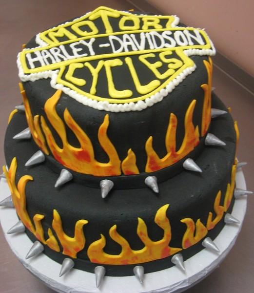 1372078479623 Harleydavidson Danvers wedding cake