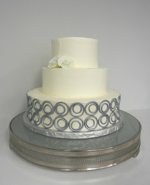 1381855284780 Modern Circle Wedding Cake Danvers wedding cake