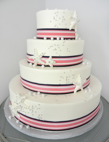 1381855294797 Nautical Stripes Danvers wedding cake