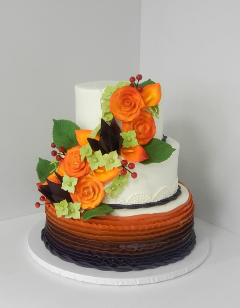 1478710982335 Fall Flowers And Ruffles Danvers wedding cake