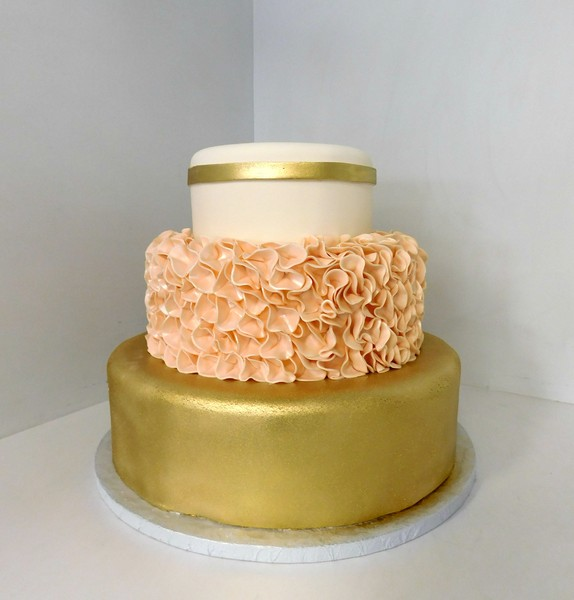 1478711459284 Blush And Gold Wedding Danvers wedding cake