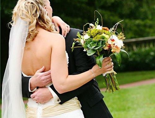 1289608955944 Christinechad2 Blue Springs wedding florist
