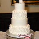 130x130 sq 1391286088468 rose pedal wedding cak