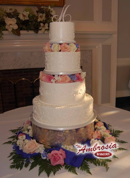 The Ambrosia Bakery Baton Rouge La Wedding Cake