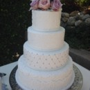 130x130 sq 1447905854457 4 tier elegant wedding cake