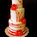 130x130 sq 1381874064195 red  white cake