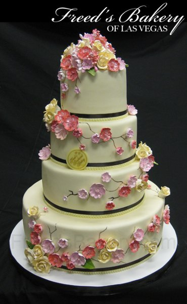 wedding cakes las vegas 1280355702058 ivorycherryblossom las vegas wedding cake 8899