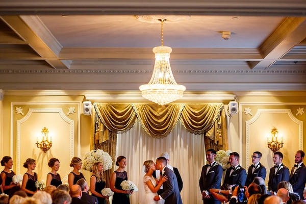 1442950796420 Main Level Ceremony By Wirken Photography Kansas City wedding venue