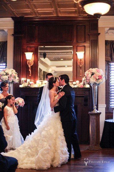 1442950927910 Ballroom Ceremony By Photos Edge 4 Kansas City wedding venue