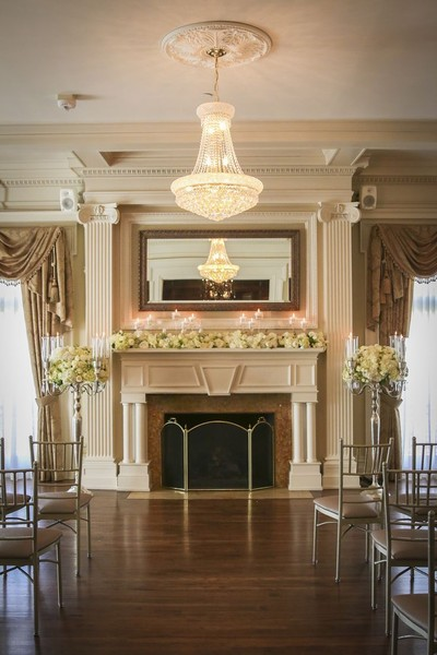 1485291737319 Main Level Ceremony Fireplace Kansas City wedding venue