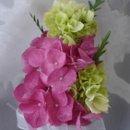130x130 sq 1363809229826 pinkandgreenhydrangeacorsage