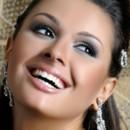 130x130 sq 1420371203034 bridal makeup smokey eye nude lips