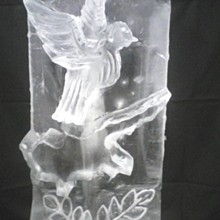 220x220 sq 1321990778469 dovewithleavesicesculpture