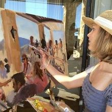 Laura Jane Fine Art | Live Wedding Painter