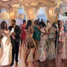 220x220 sq 1485579858007 laurajaneswytak liveeventpainting weddingreception