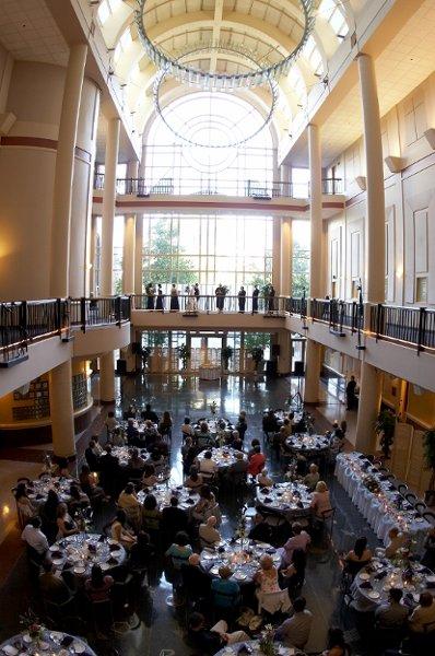 Tsakopoulos Library Galleria - Sacramento CA Wedding Venue