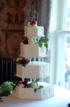 Buttercream Wedding Cakes photo