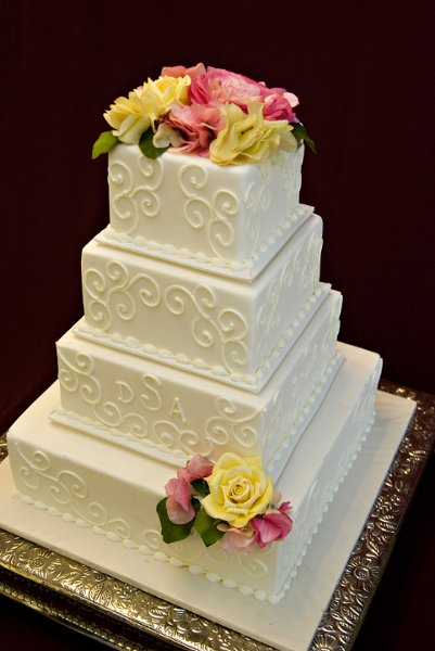 photo 2 of Buttercream Wedding Cakes