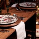 130x130 sq 1423710680233 meg runion photog farm table rattan pheasant plate