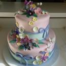 130x130 sq 1426279788258 flowerandbutterflycake