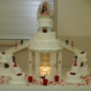 130x130 sq 1395098228228 fountain stairway wedding cak