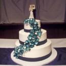 130x130 sq 1395098229717 navy blue hydrangea wedding cak