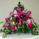 130x130 sq 1384539854354 pink roses and lilies in iron