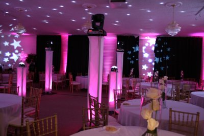Direct Sound Wedding DJ Decor & Event Lighting Service