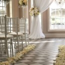 130x130 sq 1485486972883 indoor wedding ceremony aisle decoration