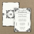 130x130 sq 1467818538225 antique filigree frame wedding invitation