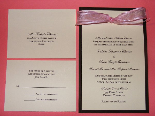 photo 13 of The Classic Invitation