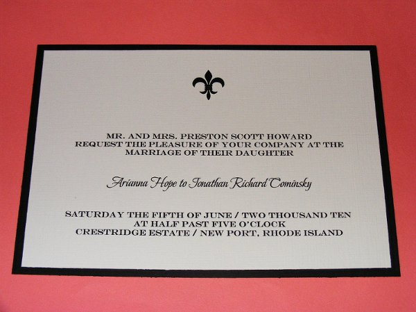 photo 10 of The Classic Invitation