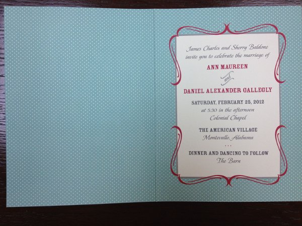 photo 15 of Alan's Invitations