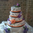 130x130 sq 1351635388802 450weddingcake4tiermusic