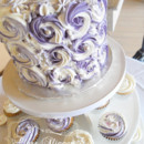 130x130 sq 1383204489205 2013.0614 rosette cake and cuppies.5gs