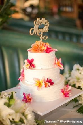 Honolulu Wedding Cakes