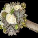 130x130 sq 1390686734783 white ranunculus and succulent bridesmaid bouque