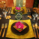 130x130 sq 1459527682382 placesetting gold charger