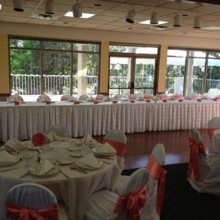 220x220 sq 1476109058354 head table for a 200 plus reception