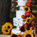 130x130 sq 1315684861923 sunflowerweddingcake
