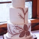 130x130 sq 1352505028262 pineconeweddingcake