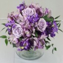 130x130 sq 1474913351002 lavender roses and alstromaria centerpiece 92016