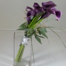 130x130 sq 1474913474402 purple calla bouquet 92016
