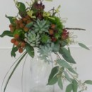 130x130 sq 1474913700737 succulent and berry bouquet 92016