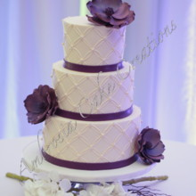 220x220 sq 1378783312248 rszlapiscolorflowerweddingcake