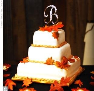 square wedding cakes with fall flowers hy vee catering ks weddingwire 20419