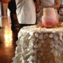 130x130 sq 1370826088918 ivory petal taffeta tablecloth
