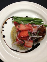 220x220 1400615067325 strawberry balsamic chicken with quino