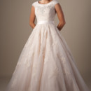 130x130 sq 1429324446994 modest wedding dress 9114m front