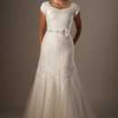 130x130 sq 1429324641685 modest wedding dress lennon front